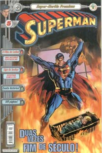 SUPERMAN PREMIUM n°05 - EDITORA ABRIL